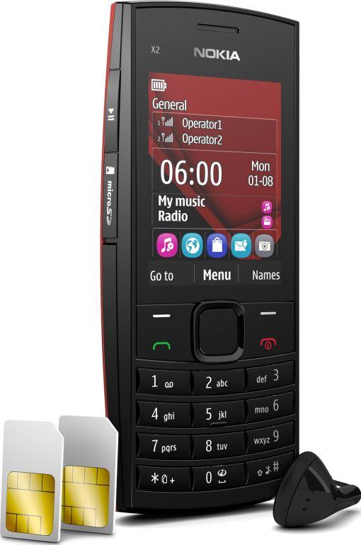 foto del cellulare Nokia X2-02