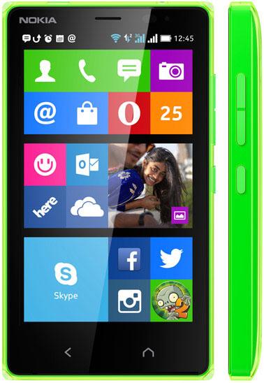 foto del cellulare Nokia X2