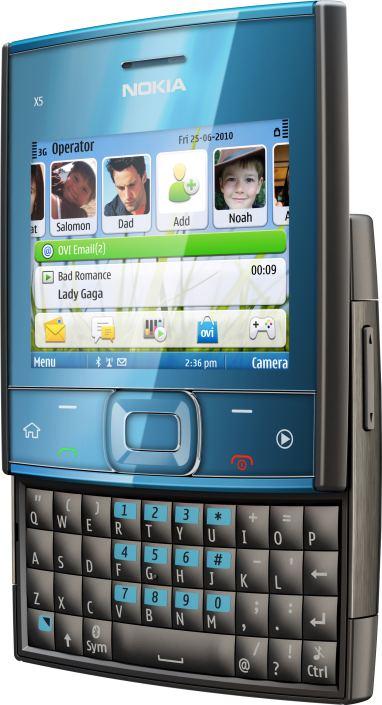foto del cellulare Nokia X5-01