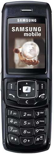 foto del cellulare Samsung P200