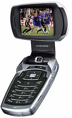 foto del cellulare Samsung P900