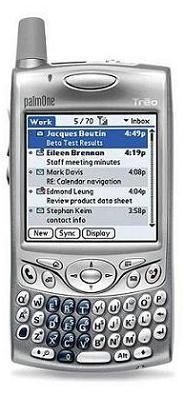 foto del cellulare Palm Treo 650