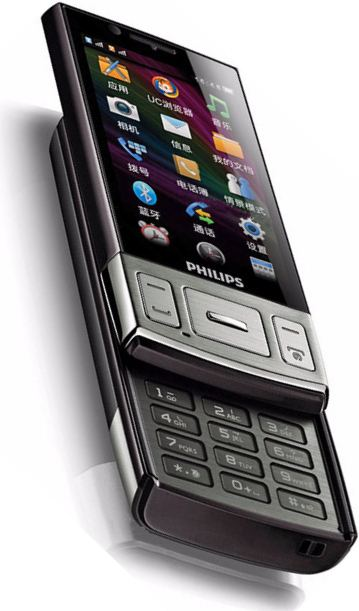foto del cellulare Philips W625