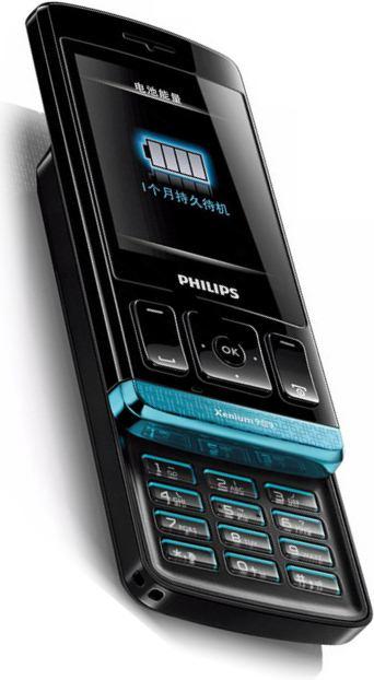 foto del cellulare Philips X223