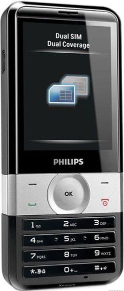 foto del cellulare Philips X710