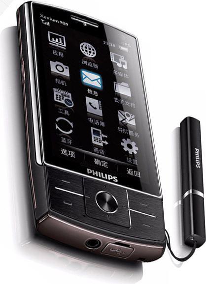 foto del cellulare Philips X815 Xenium