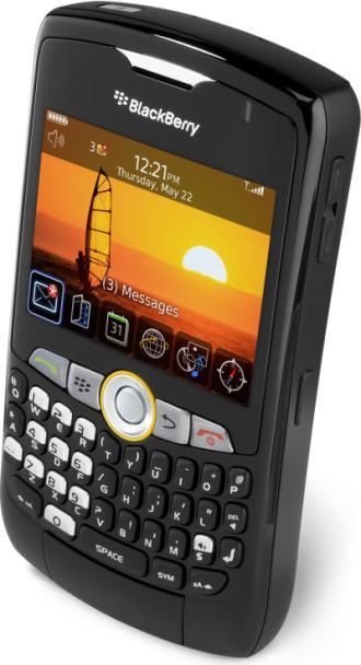 foto del cellulare Rim BlackBerry 8350i Curve