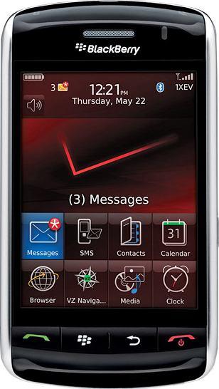 foto del cellulare Rim BlackBerry 9500 Storm