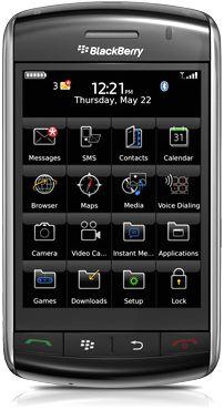 foto del cellulare Rim BlackBerry 9530 Storm