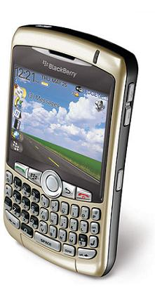 foto del cellulare Rim BlackBerry 8320 Curve