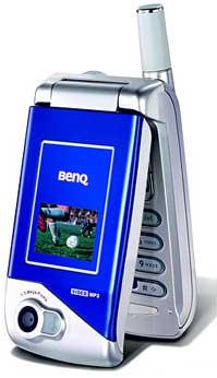 foto del cellulare BenQ S700