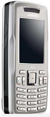 foto del cellulare Siemens S75.