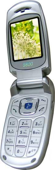 foto del cellulare Philips S800