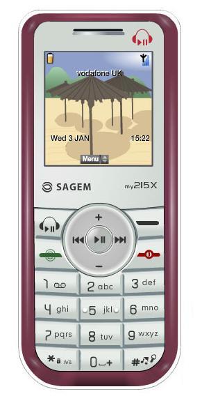 foto del cellulare Sagem MY215x