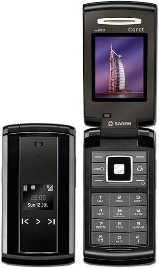 foto del cellulare Sagem MY850C