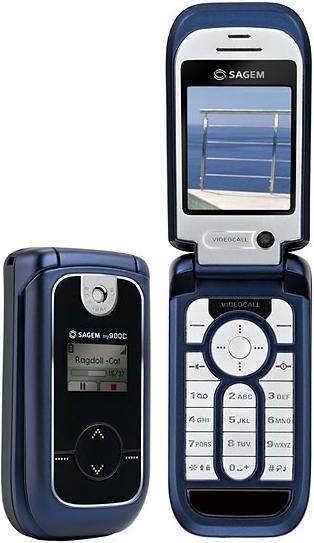 foto del cellulare Sagem MY900C