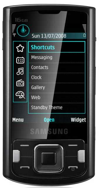 foto del cellulare Samsung Innov8 i8510