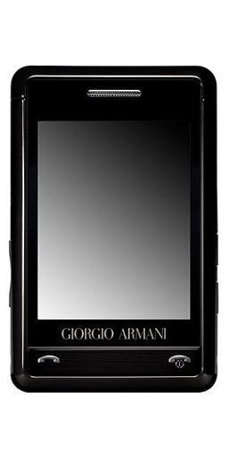 foto del cellulare Samsung Giorgio Armani