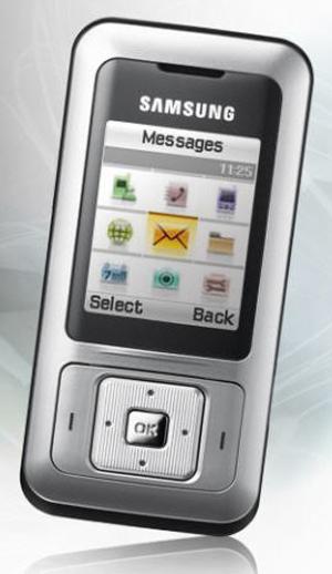 foto del cellulare Samsung B510