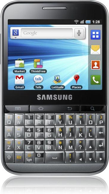Samsung Galaxy Y Pro | Scheda tecnica | Specifiche