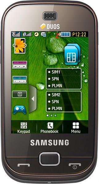 foto del cellulare Samsung B5722