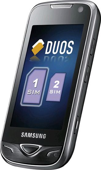 foto del cellulare Samsung Star Duos