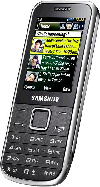 foto del cellulare Samsung C3530