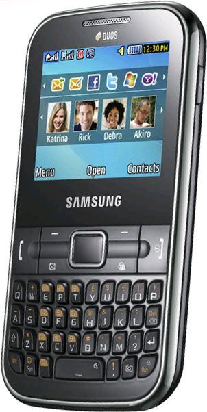 foto del cellulare Samsung Chat 322