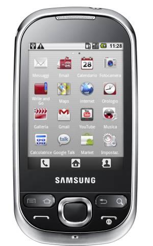 foto del cellulare Samsung Corby i5500