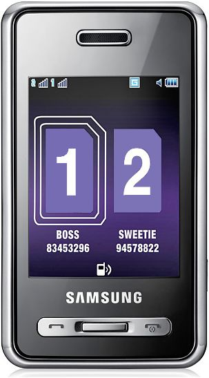 foto del cellulare Samsung D980