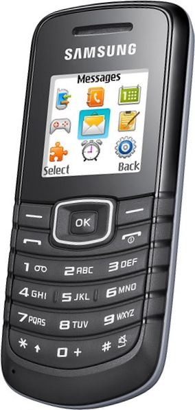 foto del cellulare Samsung E1080