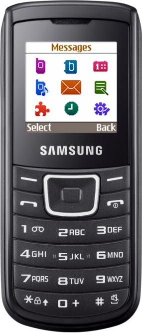 foto del cellulare Samsung E1100