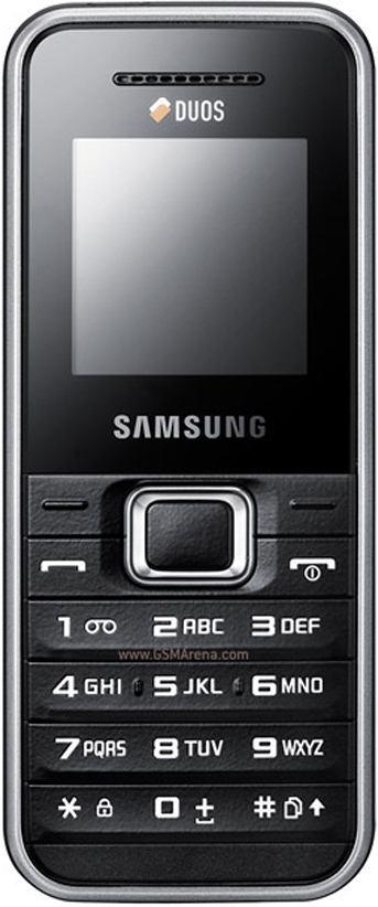 foto del cellulare Samsung E1182