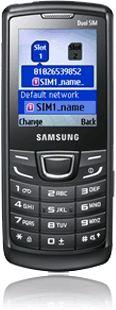 foto del cellulare Samsung E1252