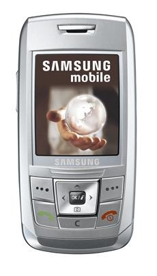 foto del cellulare Samsung E250