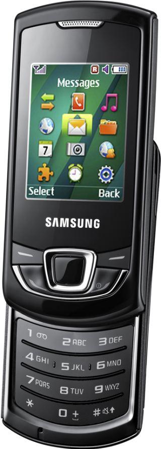 foto del cellulare Samsung E2550