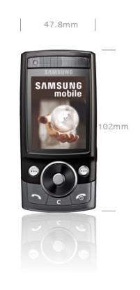 foto del cellulare Samsung G600