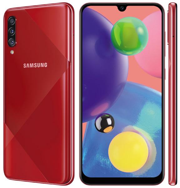 foto del cellulare Samsung Galaxy A70s