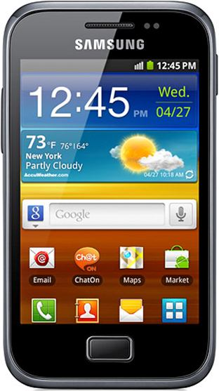 foto del cellulare Samsung Galaxy Ace Plus