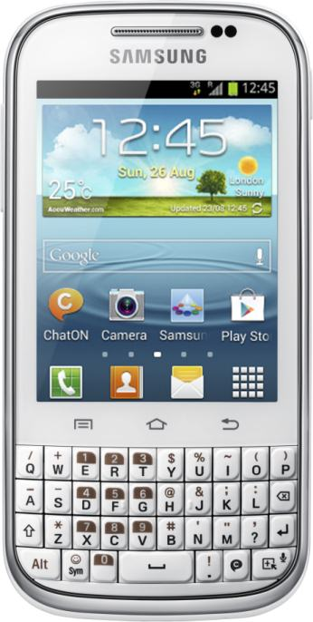 foto del cellulare Samsung Galaxy Chat