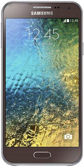 foto del cellulare Samsung Galaxy E5