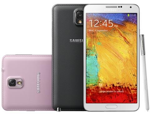 foto del cellulare Samsung Galaxy Note 3