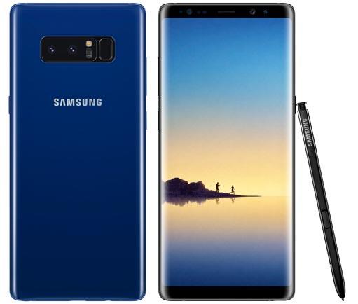 foto del cellulare Samsung Galaxy Note8