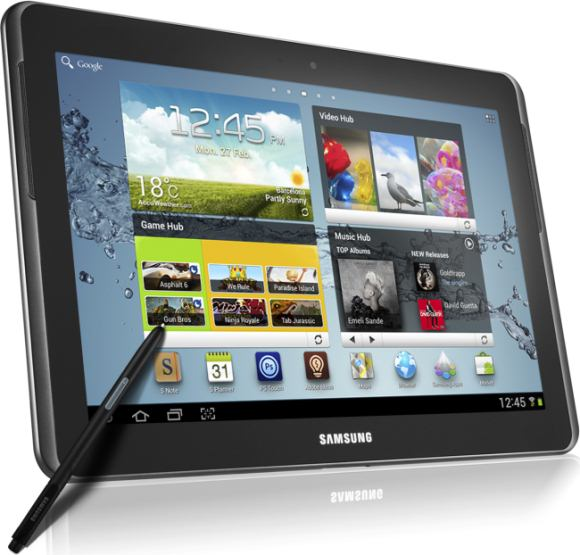 smartphone Samsung Galaxy Note 10.1
