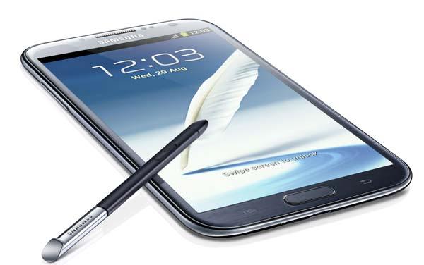 foto del cellulare Samsung Galaxy Note 2