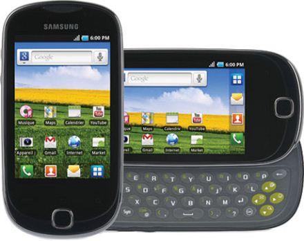 foto del cellulare Samsung Galaxy Q