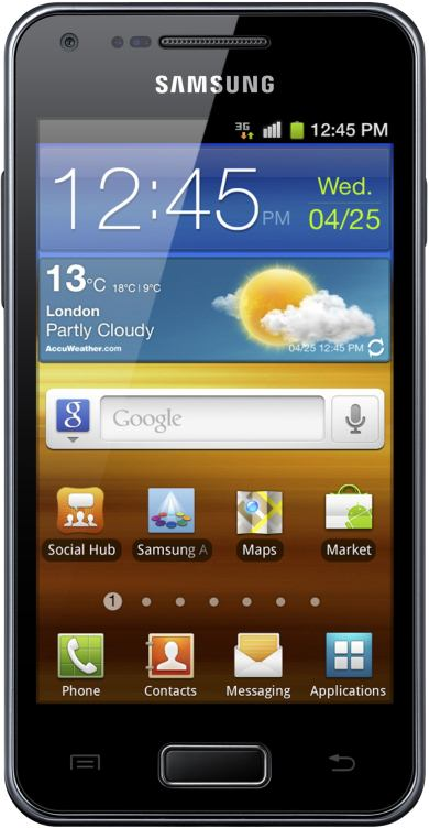 foto del cellulare Samsung Galaxy S Advance
