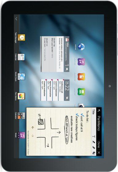 foto del cellulare Samsung Galaxy Tab 8.9