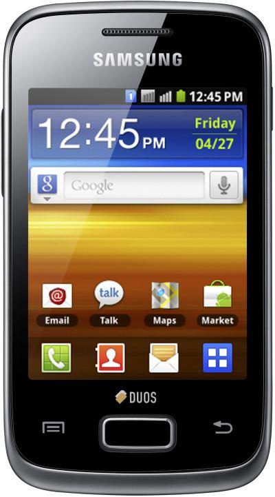 foto del cellulare Samsung Galaxy Y Duos