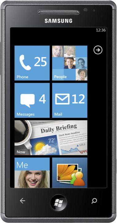 foto del cellulare Samsung Omnia 7